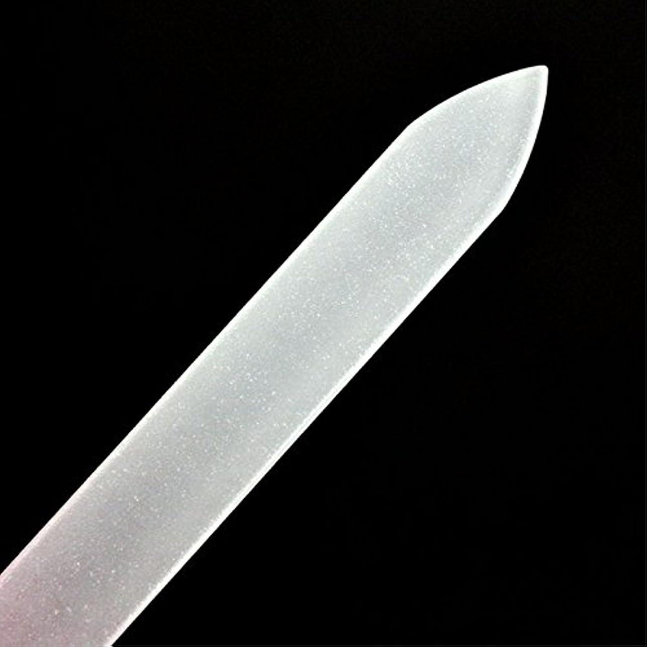 爪磨き つめみがき ネイルケア 爪やすり 用品ガラス製爪ヤスリ ガラス製 ケース付 つめやすり甘皮 ケア