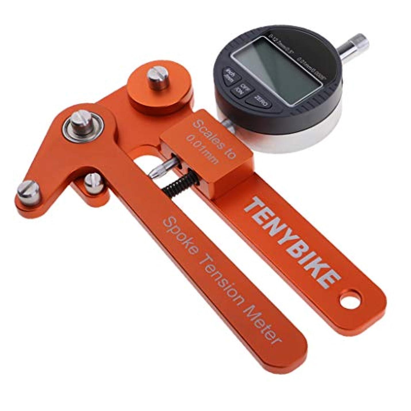 不足ブルゴーニュ遠近法SM SunniMix アルミ合金 自転車 スポークテンションメーター 張力測定器 張力度測定 全2種