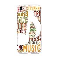 igcase iphone7 iphone アイフォーン 専用ハードケース スマホカバー カバー ケース pc ハードケース 006045 その他 音符 英語 文字