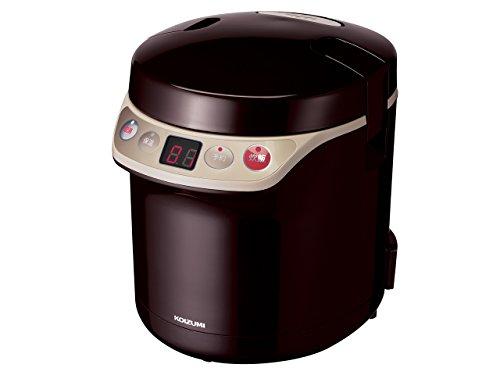 コイズミ 炊飯器 0.5~1.5合 ブラウン KSC-1511/T