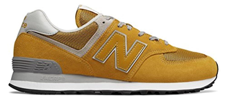 (ニューバランス) New Balance 靴?シューズ メンズライフスタイル 574 Yellow イエロー US 17 (35cm)