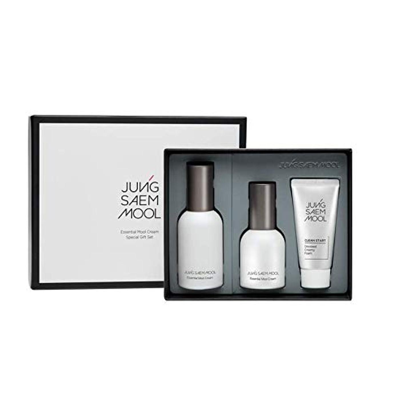 アシスト西保証金ジョンセンムル JUNGSAEMMOOL エッセンシャルムルクリームスペシャルギフトセット Essential Mool Cream Special Gift Set [並行輸入品]