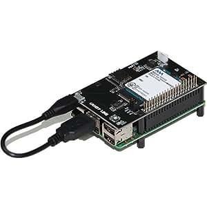 LTEPi for D (Raspberry Pi用 LTE通信機能拡張ボード)SORACOM(ソラコム)/ IIJ / U-mobile 等のドコモ系MVNO nanoSIM対応