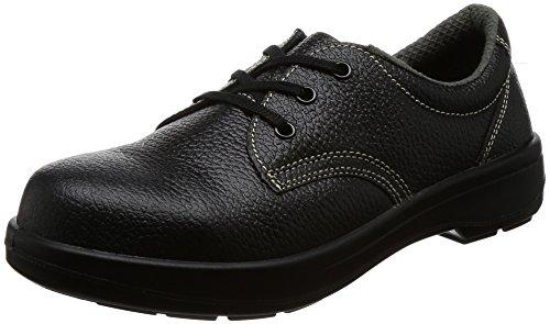シモン(SIMON) AW11BK-24.0 ブラック 2層ウレタン底安全短靴 (24.0cm) その他のアウトドア