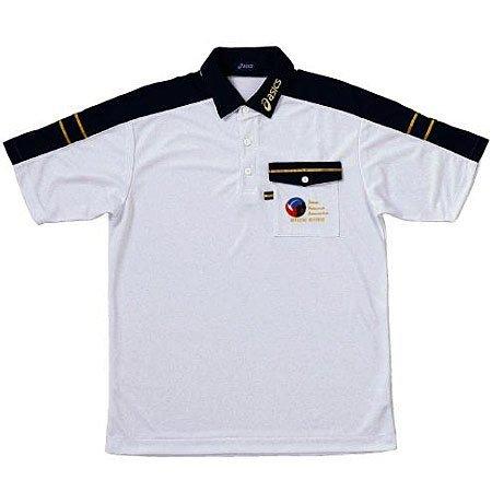 [해외]asics (아식스) 반팔 심판 셔츠 배구 남성 xw6312/asics (ASICS) short sleeve referee shirt volleyball men xw 6312