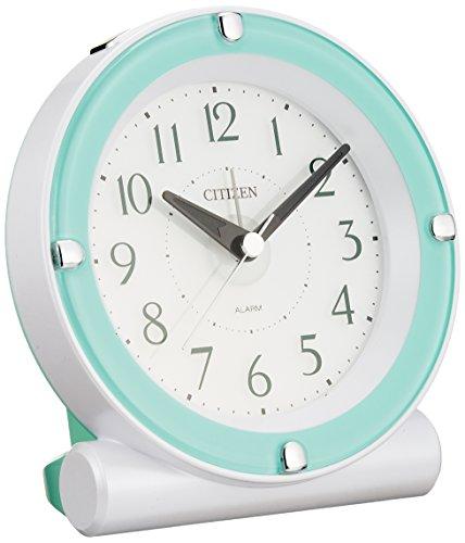 CITIZEN(リズム時計) カラフルライト目覚まし セリアR652 緑色 8RE652-005
