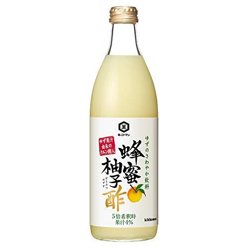 蜂蜜柚子酢 500ml