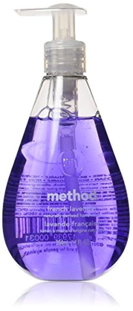 追い払うブレイズ北米Method Gel Hand Wash, French Lavender, 12 Ounce (Pack of 3) by Method