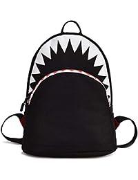 Manyao 漫画のサメの形の動物のリュックサックベビー子供の子供Bookbagかわいいスクールバッグ