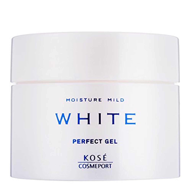 回転させる韓国繊毛KOSE モイスチュアマイルド ホワイト パーフェクトジェル 100g (医薬部外品)