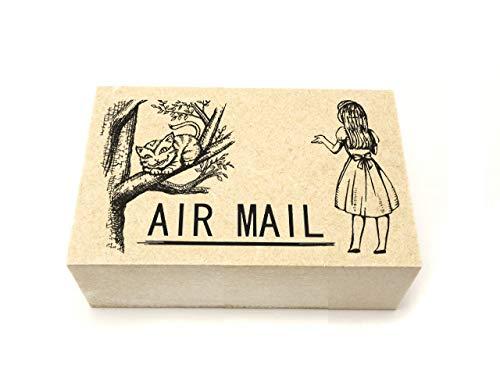 海外・手紙・ 封書に可愛く絵柄付き【AIR MAILスタンプ】 AM-03