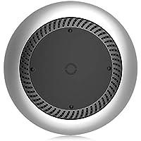 ワイヤレス充電器サイレントファンは、Iphoneのためのqiワイヤレス充電充電器を放つxのサムスンs9のs8の火花