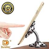 Durebler 携帯電話ホルダー 7インチタブレットブラケット 360度回転 多機能 デスクトップ/ミラー/フロンドガラス 吸盤ホルダー 5つシリコン吸盤付き (ブラック)