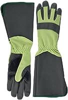 Green Gloves gar1911lg10ガーデニンググローブベリー、グリーン、グレー、10