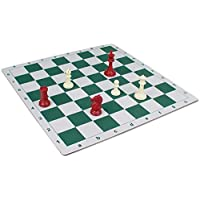 The Chess Store Floppy Chess Board Green & Buff - 2.375 by The Chess Store [並行輸入品]