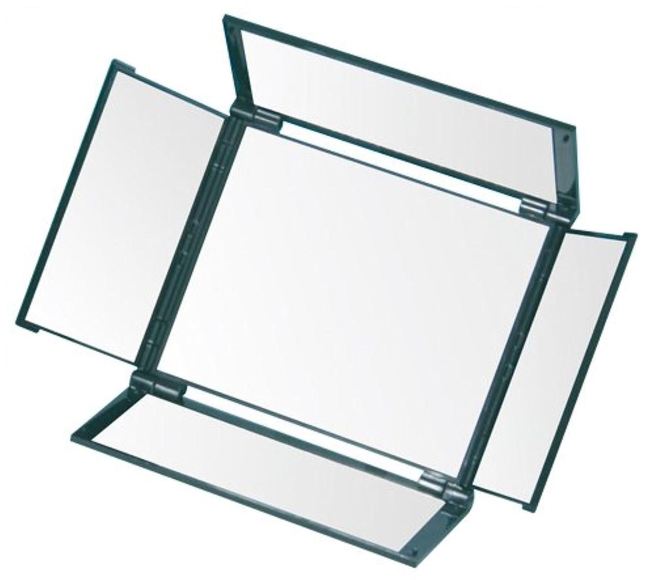 アクチュエータクローンテーブルを設定するオールラウンドミラー(5面鏡) HA-5 メタリックブラック