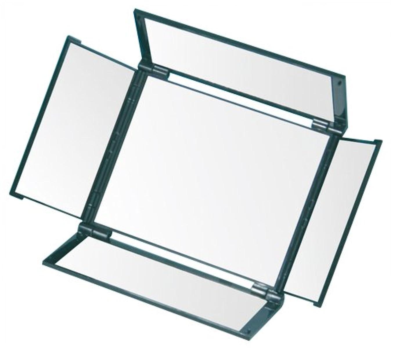 お手入れ不測の事態明らかにするオールラウンドミラー(5面鏡) HA-5 メタリックブラック