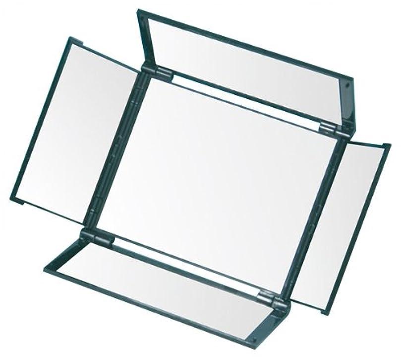 バーチャルアルファベット会員オールラウンドミラー(5面鏡) HA-5 メタリックブラック