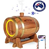 LE TILLAY SMART WINE BARREL AROMA DIFFUSER with BLUETOOTH SPEAKER & App Ultrasonic AROMATHERAPY AIR HUMIDIFIER