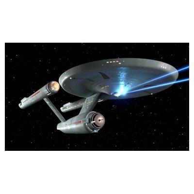 スタートレック Star Trek レンチキュラー印刷 3D ポスター フェイザー発射 純正品 並行輸入品