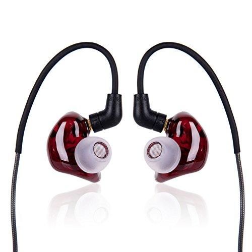 Pai audio セミオープン型 MR3 Burgundy トリプルバランスドアーマチュアイヤホン PAI-MR3 Burgundy