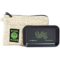 Rollies Pouch -Padded Pouch w/Rolling Tray & Removable Smell Proof Pouch