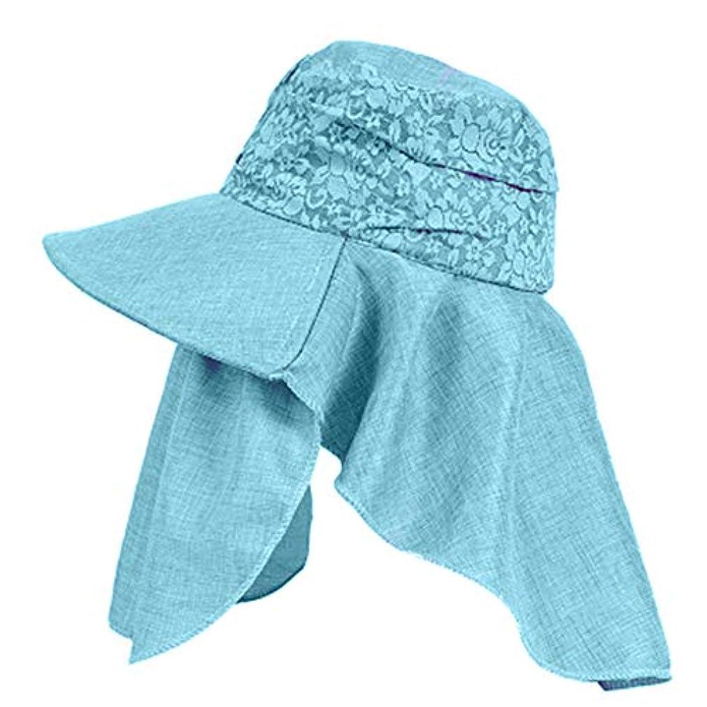 フォージみすぼらしいビーズMerssavo 女性の夏の日曜日の帽子、バイザーカバーの表面の反紫色のライン旅行日曜日の帽子、ガーデニング、ハイキング、旅行、1#