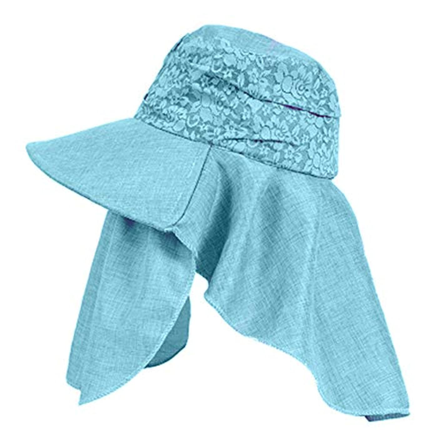 太いトーク出来事Merssavo 女性の夏の日曜日の帽子、バイザーカバーの表面の反紫色のライン旅行日曜日の帽子、ガーデニング、ハイキング、旅行、1#