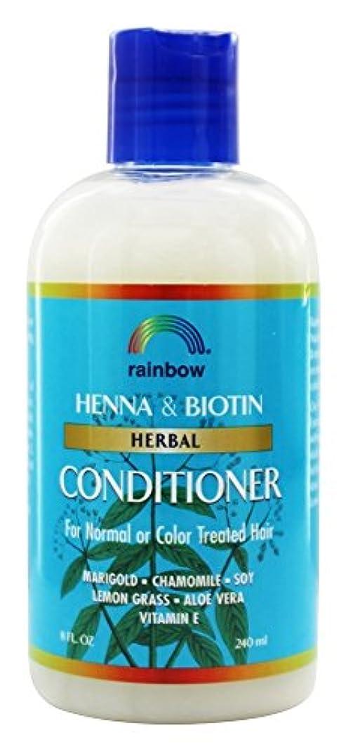 期待して穴義務Rainbow Research - 有機ハーブ ヘナ ビオチン コンディショナー - 8ポンド [並行輸入品]