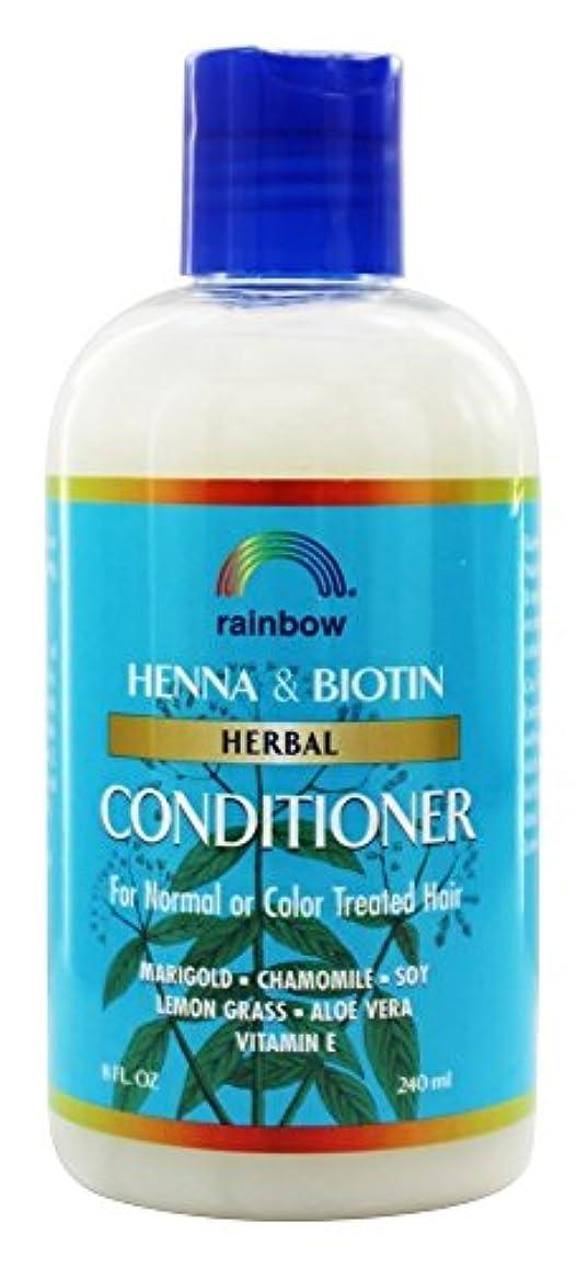 コピーテレマコス人種Rainbow Research - 有機ハーブ ヘナ ビオチン コンディショナー - 8ポンド [並行輸入品]