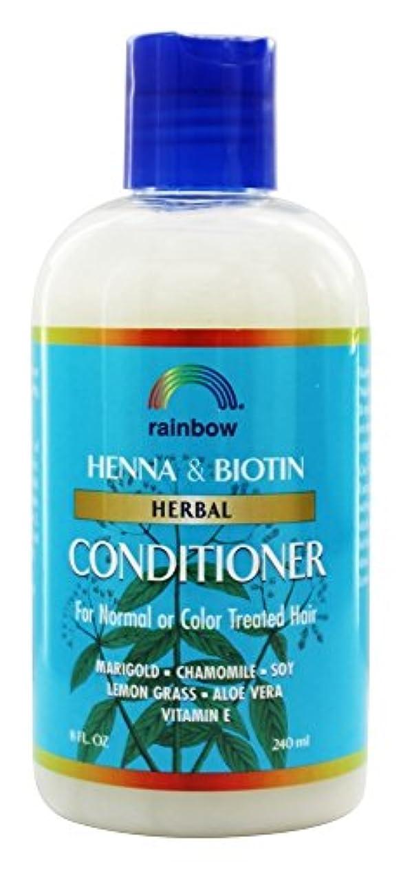 ナプキン甲虫献身Rainbow Research - 有機ハーブ ヘナ ビオチン コンディショナー - 8ポンド [並行輸入品]