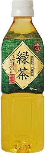 神戸茶房 緑茶 PET 500ml ×24本 [ 国産茶葉100% 無香料 無着色 ]