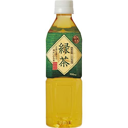 神戸居留地 緑茶 500m×24