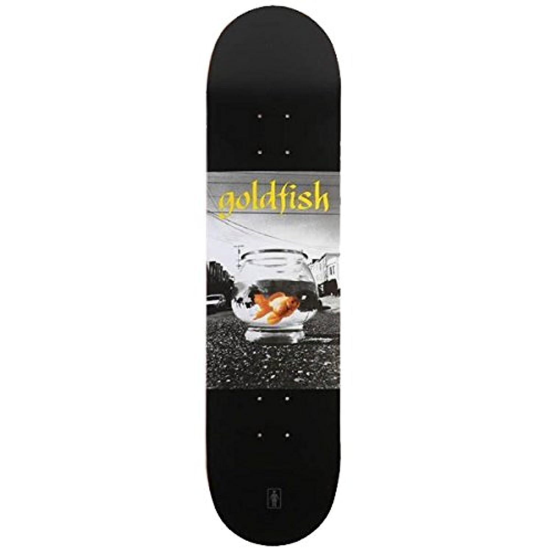 GIRL ガール スケボーデッキ GIRL FILMS DECK GOLD FISH 8.0x31.875インチ(デッキテープ サービス)girl skateboards スケートボード