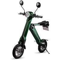 Blaze 智能 EV ブレイズスマート EV 卡其色可折叠电动摩托车摩托车自行车12寸可拆卸式电池车内積み込み 车辆重量 : 约18kg 标志申请交付车牌采购过程代行申请附证书智能 EV