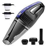 AVANTEK Handheld Vacuum Cleaner, Cordless Hand Vacuum for Car and House, Portable Hand Held Vacuum with 7 kPa Suction Power and 30-Minute Continuous Power, Fast Charging