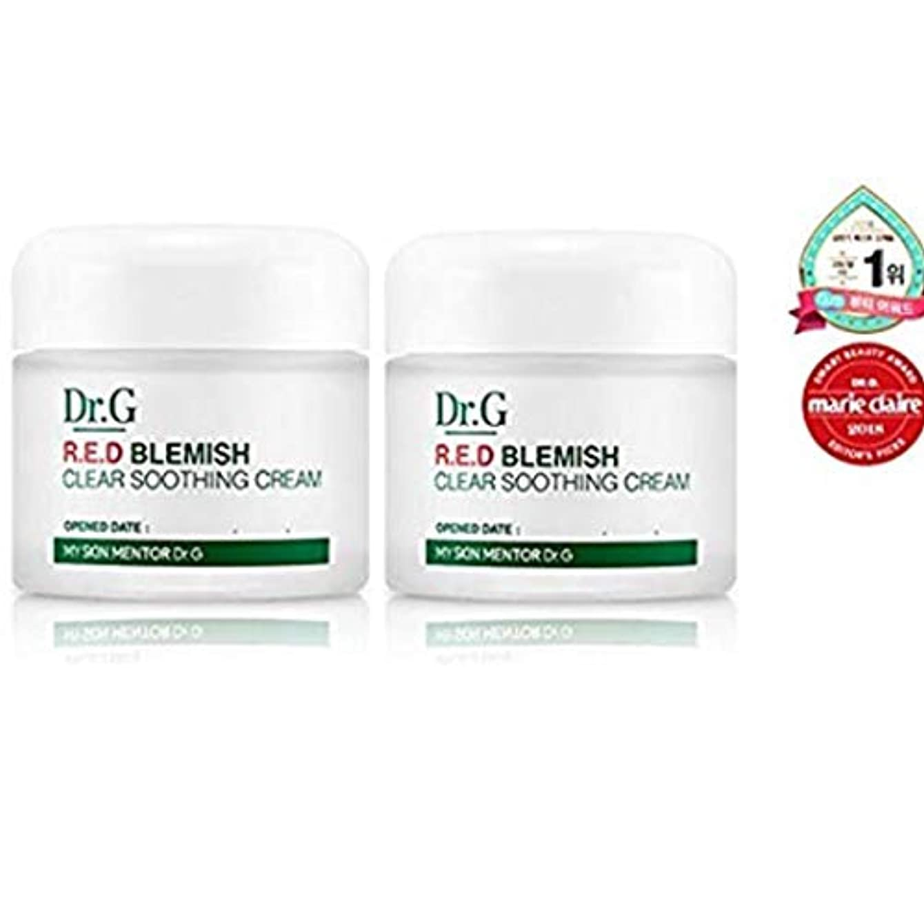 [Dr.Gドクタージー]レッド ブレミッシュ クリア スージング クリーム 70ml X 2EA / Dr.G RED BLEMISH CLEAR SOOTHING CREAM 70ml X 2EA [並行輸入品]