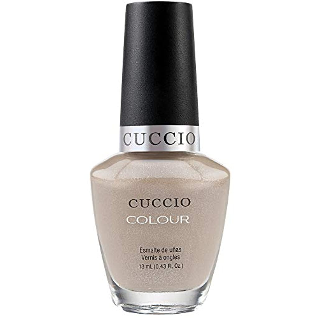 疑い者適用済み条約Cuccio Colour Gloss Lacquer - Cream & Sugar - 0.43oz / 13ml