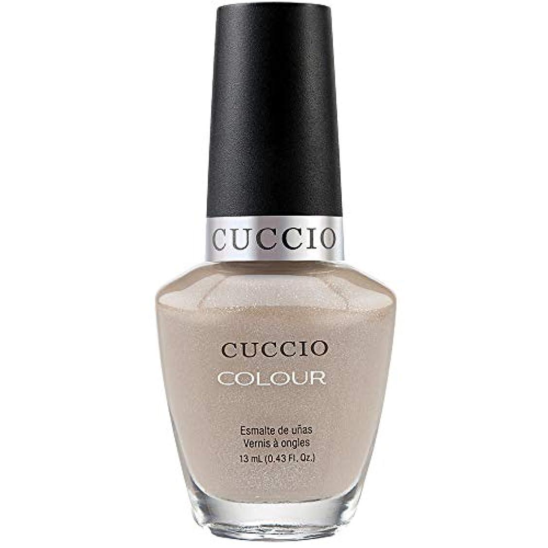 苗阻害する主要なCuccio Colour Gloss Lacquer - Cream & Sugar - 0.43oz / 13ml