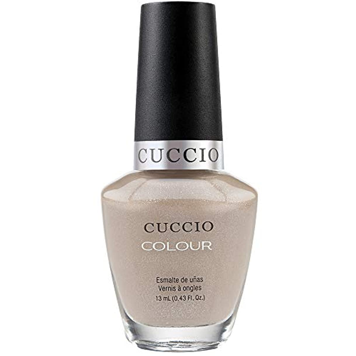 作曲家好意伝染性のCuccio Colour Gloss Lacquer - Cream & Sugar - 0.43oz / 13ml