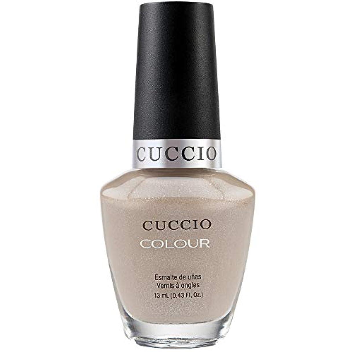 冷蔵する中間ルーキーCuccio Colour Gloss Lacquer - Cream & Sugar - 0.43oz / 13ml