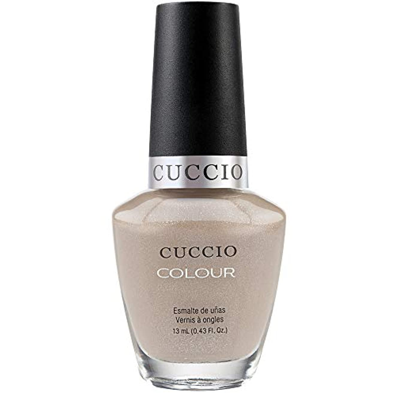 葉を集める調整する届けるCuccio Colour Gloss Lacquer - Cream & Sugar - 0.43oz / 13ml