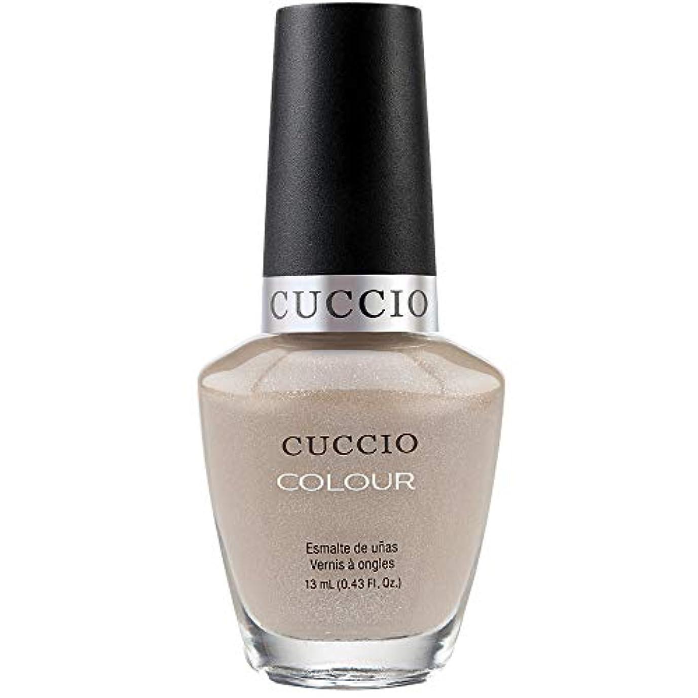 ホスト旧正月無礼にCuccio Colour Gloss Lacquer - Cream & Sugar - 0.43oz / 13ml