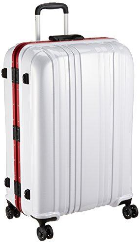 [エスケープ] ハードフレームスーツケース シフレ 1年保証付 保証付 88L 75cm 5.3kg ESC1046-68 カーボンホワイト カーボンホワイト