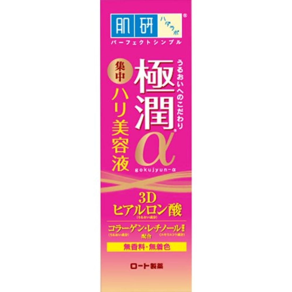 発生軌道抑制する肌研(ハダラボ) 極潤 αハリ美容液 30g