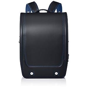 [フィットチャン] 【公式】フィットちゃんランドセル アスリートボーイ A4フラットファイル収納サイズ クロ×ブルー