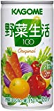 カゴメ 野菜生活100 190g缶 30本入3ケース(90本)お買い得セット