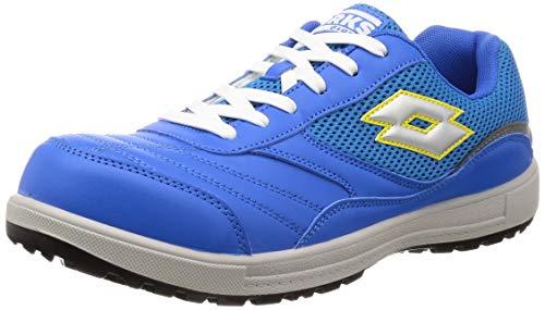 [ロットワークス] LW-S7007 JSAA A種認定 プロテクティブスニーカー 安全靴 作業靴 鋼鉄製先芯 メンズ ブルー 28 cm 2E