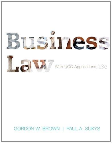 Download Business Law with UCC Applications Student Edition 0073524956