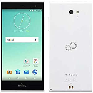 Fujitsu 富士通 SIMフリースマートフォン おサイフケータイ対応 arrows M02 ホワイト